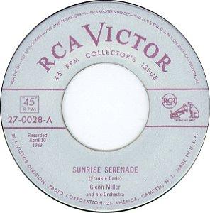 COMPACTO - Glenn Miller And His Orchestra – Sunrise Serenade / Moonlight Serenade