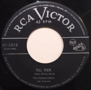 COMPACTO - The Fontane Sisters – Till Then / The Baion
