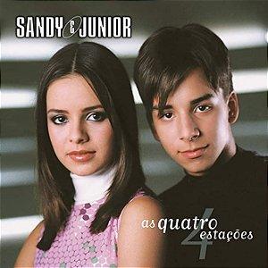 CD - Sandy e Junior – As Quatro Estações (Novo - Lacrado)