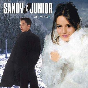 CD - Sandy e Junior – QUATRO ESTAÇÕES - AO VIVO (Novo - Lacrado)