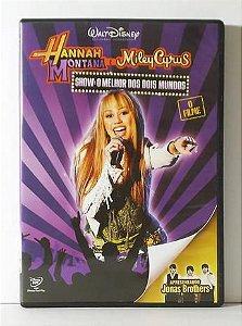 DVD - Hannah Montana e Miley Cyrus - Show: O Melhor dos Dois Mundos
