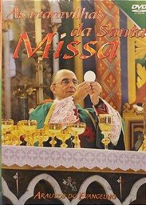 DVD - As Maravilhas da Santa Missa (Novo - Lacrado)