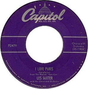 COMPACTO - Les Baxter – I Love Paris / Gigi