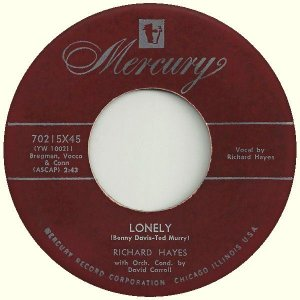 COMPACTO - Richard Hayes – Lonely / Moonlight