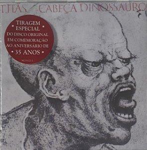 CD - Titãs – Cabeça Dinossauro (Novo Lacrado)