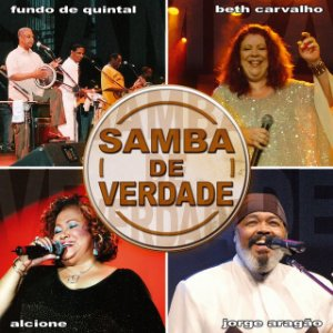 CD - Samba de verdade (Ao vivo) (Vários Artistas)