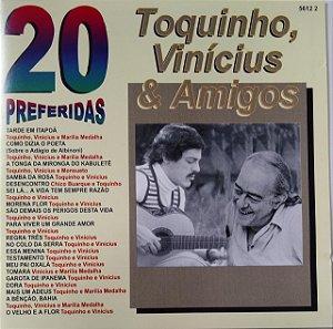 CD - TOQUINHO, VINÍCIUS & AMIGOS (Vários Artistas) (Coleção 20 Preferidas)
