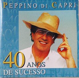 CD - Peppino di Capri - 40 anos de sucesso