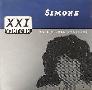 CD - Simone (Coleção XXI - Vinteum: 21 Grandes Sucessos) (DUPLO)