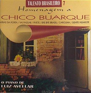 CD - O Piano de Luiz Avellar - Homenagem a Chico Buarque  (Talento Brasileiro 7)