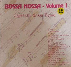 CD - Quarteto Nossa Bossa - Bossa Nova Volume 1