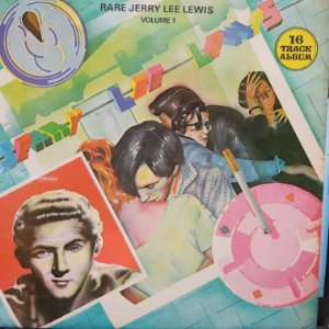 LP - Jerry Lee Lewis – Rare Jerry Lee Lewis Volume 1 (Importado UK)