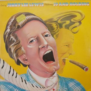 LP - Jerry Lee Lewis – The Best Of Jerry Lee Lewis Featuring 39 And Holding (Importado US)