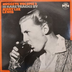 LP - Jerry Lee Lewis – gets Volume 2: 16 Rare Tracks By Jerry Lee Lewis (Importado UK)