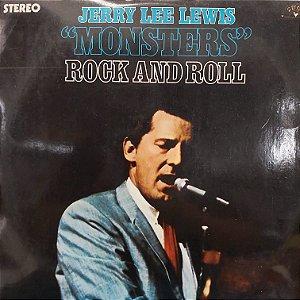LP - Jerry Lee Lewis – Monsters (Importado US)