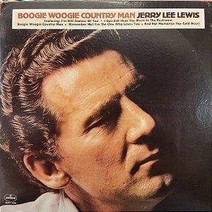 LP - Jerry Lee Lewis – Boogie Woogie Country Man (Importado US)
