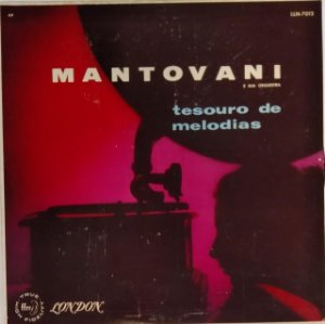 LP - Mantovani e Sua Orquestra - Tesouro de Melodias