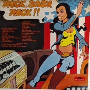 LP - Rock, Baby, Rock!! (Vários Artistas)