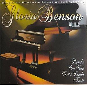 CD - Glória Benson - Volume 2 - Brazilian Romantic Songs By The Piano Of