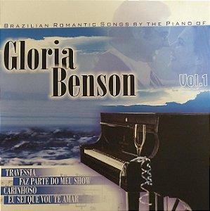 CD - Gloria Benson - Volume 1 - Brazilian Romantic Songs By The Piano Of