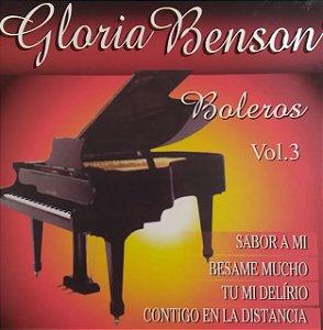 CD - Gloria Benson - Boleros - Volume 3