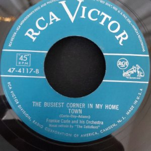 """COMPACTO - Frankie Carle - The Busiest Corner In My Home / Eleanor  (Importado US) (7"""")"""