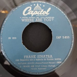 """COMPACTO - Frank Sinatra - Autumn Leaves / Where Are You / I' A Fool to Want You - (Importado US) (7"""")"""