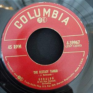 """Compacto - Geraldo - The Esctasy Tango / La Cumparsita (Importado US) - (7"""")"""