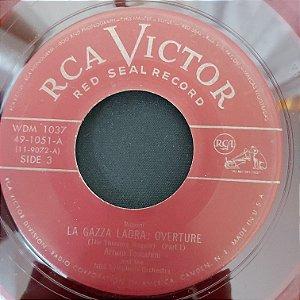 "Compacto - Arturo Toscanini - La Gazza - Part 1 / La Gazza  - Concluded (Importado US) (7"")"