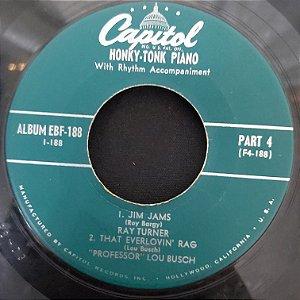 "COMPACTO - Honky Tonk - Jim Jams / That Everlovin' Rag / The Entertainer's Rag / Two Dollar Rag (Importado US) (7"")"