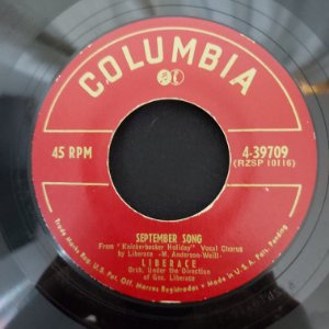 "COMPACTO - Liberace - September Song / I Want My Mama (Importado US) (7"")"