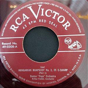 "COMPACTO - Boston Pops Orchestra - Hungarian Rhapsody No.2 - Part 1 / Hungarian Rhapsody No.2 - Concluded (Importado US) (7"")"