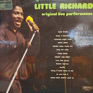 LP - Little Richard - Original Live Performance (Importado France)