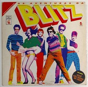 """LP - Blitz – As Aventuras Da Blitz (""""Atenção - Por terem sido vetadas pela censura as 2 últimas músicas do lado B foram intencionalmente inutilizadas"""")"""