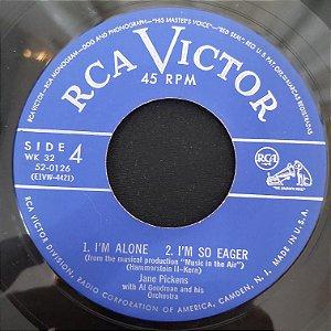 COMPACTO - Jane Pickens - I'm Alone / I'm So Eager / One More Dance (Importado US)