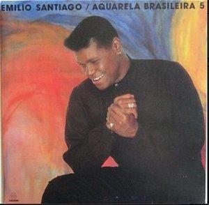 LP - Emilio Santiago – Aquarela Brasileira 5