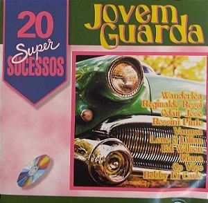 CD - 20 Super Sucessos - Jovem Guarda ( Vários Artistas )