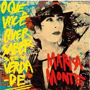 LP - Marisa Monte – O Que Você Quer Saber De Verdade (Novo - Lacrado) Polysom