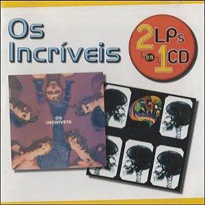 CD - Os Incríveis (Série: 2 LPs em 1 CD)