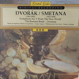CD - Antonín Dvorák / Bedrich Smetana (Coleção Grand Gala)