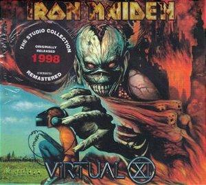CD - Iron Maiden – Virtual XI (Novo - Lacrado)