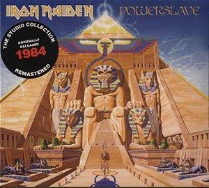 CD - Iron Maiden – Powerslave (Novo - Lacrado)