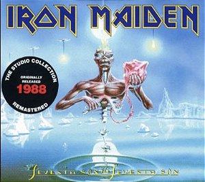 CD - Iron Maiden – Seventh Son Of A Seventh Son (Novo - Lacrado) remasterized
