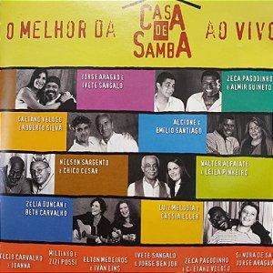 CD - O Melhor da Casa de Samba - Ao Vivo (Vários Artistas)
