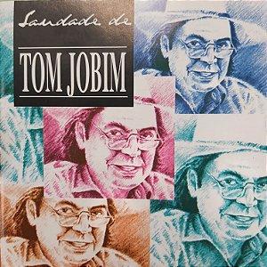 CD - Saudades de Tom Jobim (Vários Artistas)