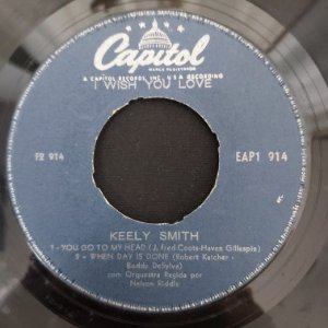 COMPACTO - Kelly Smith - You Go To My Head / When Day Is Done / I Wish You Love / I Understand  (Importado US)