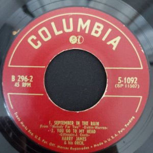 COMPACTO - Harry James - September In The Rain / You Go To My Head / That Old Feeling / If I'm Lucky (Importado US)
