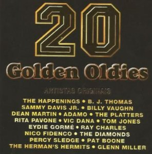 CD - 20 Golden Oldies (Vários Artistas)