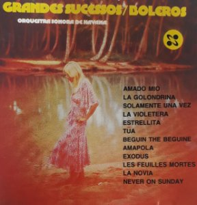 CD – Orquestra Sonora De Havana – Grandes Sucessos / Boleros