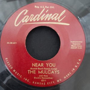 COMPACTO - The Mulcays - Near You / My Happiness (Importado US)
